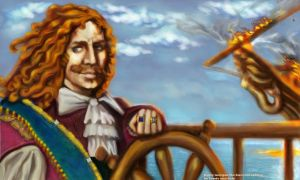 Henry Morgan, Buccaneer King by kerrieanndaly