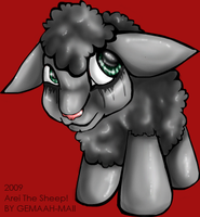 Arei The Sheep by Gemaah-Maii