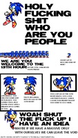 Sonic's homosexuality: page 1 by jr9000