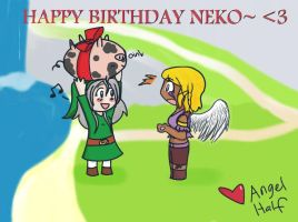 HAPPY BERFDAY NEKOO by angel-half