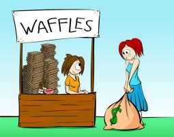 Waffles by CommonSvensson