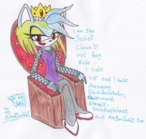 The bad Queen of the World by MrsSoniku63