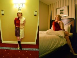 Mary/Maria costume - Silent Hill 2 by hexterah