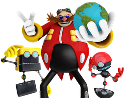 The World in his Hands, EGGMAN WEEK5 by Nibroc-Rock