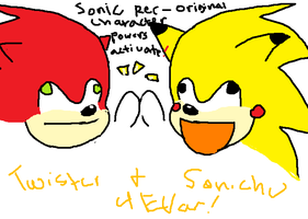 SONic ReCOULOR POWerS AcTIvatE by TWISTERGR8ESTFAN