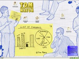 Tom Goes To The Mayor Desktop by Mazzy12345