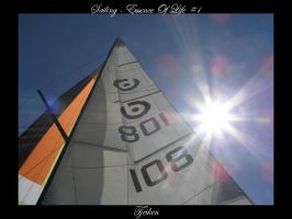 Sailing - Essence Of Life 1 by Tjeiken