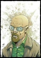 Walter White - Breaking Bad fan art by Rexbegonia