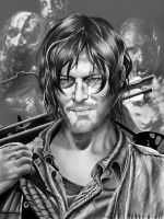 Daryl Dixon Final by corysmithart