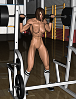 Blaire: Squats 1-1 by FatalHolds