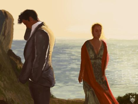 Study - scene from mamma mia by Wolkenfels