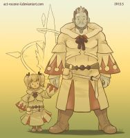 small and big FFXIV WHM by Act-VScene-II