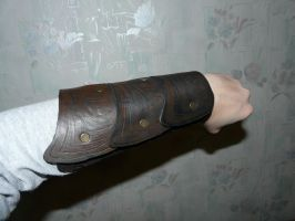 rogue's archery bracer by sister-in-arms