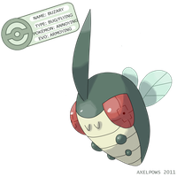 FAKEMON, Buzary by AxelPows