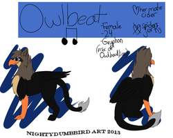 Owlbeat Reference Sheet by hipsteremo