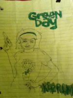 Kerplunk-Green Day Album Cover by americaneulogy23