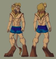 lion anthro adopt :CLOSED: by finnicky-dragon