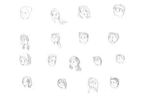 Class of '06, Heads Up sketch by sandragon13