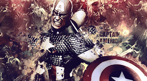 Captain America by Saint-Angerr