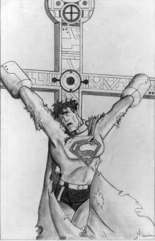 The Crucifixion of Superman pg. 5 by superpicciurro84