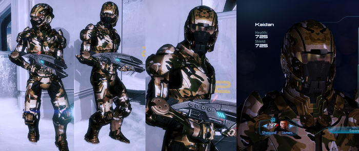 Kaidan Inferno Armour, MultiCam pattern by survivor686