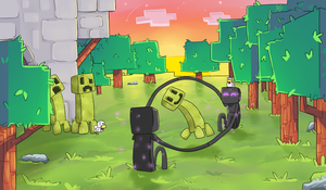 When Creepers Come Out to Play. by Baajo