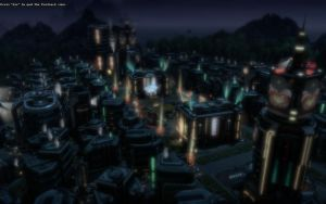Anno 2070 - Tycoon City At Night 2 by Shroomworks