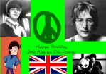 John Lennon tribute wallpaper by Anastasia6710