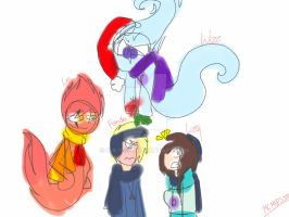 Christmas sketch XD by S-K-Y-L-I
