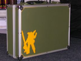 Metal Case Mech Stencil by exell