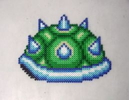 Bowser Shell Bead Art by emelyjensen