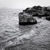 the black and white sea no.12 by herbstkind