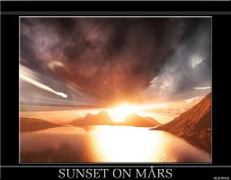 Sunset On Mars by Superiorgamer