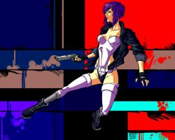 Motoko. by BigBlow