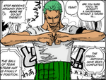 Roronoa Zoro - colored by subzer092