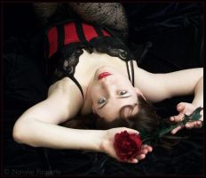 Red Rose Pin-Up II by fetishfaerie-photos
