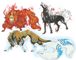.:Win FREE Kitsune creature adopts-CLOSED:. by LeeOko