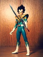 ULTIMATEfiguart funnys - Vegeta the Green Ranger!? by ULTIMATEbudokai3
