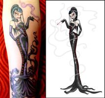 New Tattoo and Drawing by MissConduct