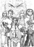 New X-men-BIG FILE by JeanSinclairArts