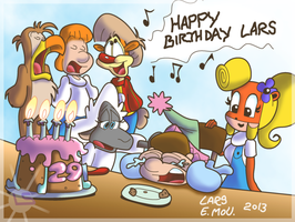 B-day - Another Year Goes By by Lars99