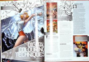 Advance Photoshop Mag feature by bennyfuentes
