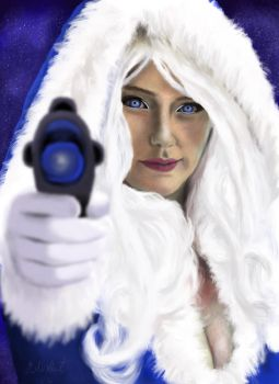 Vegas PG as Captain Cold by Artfoundry