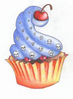 Evil Cupcake by melangle