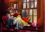 Early Reading by SweetLittleVampire