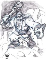 TUNRING -- TELLOS bad guy by Wieringo
