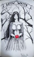 Snow white by Thalie-Na