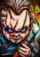 Chucky by cussoncheung