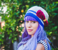 Sailor Moon Slouchy Hat by candypow