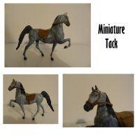 Miniature Tack for Aria by Hazelnut-Eyes